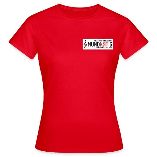 Logo Mundartig - Frauen T-Shirt