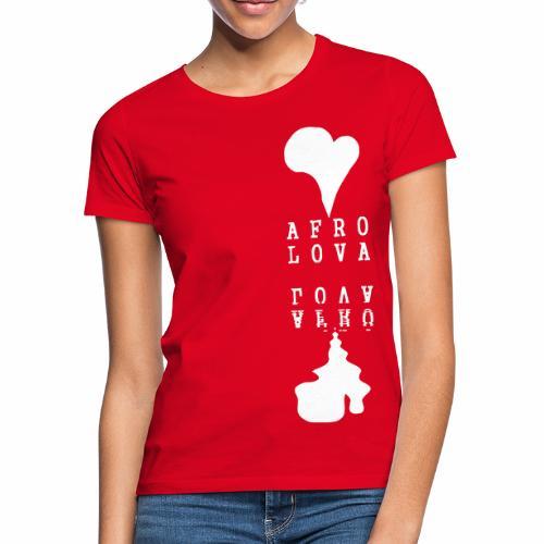 Reflet Afro Lova Rouge - T-shirt Femme