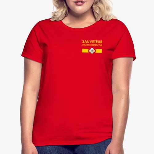 Gamme Sauveteur Aquatique - T-shirt Femme