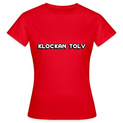 klockan12 png - T-shirt dam