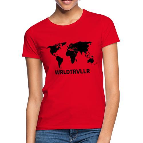 Worldtraveller - Frauen T-Shirt