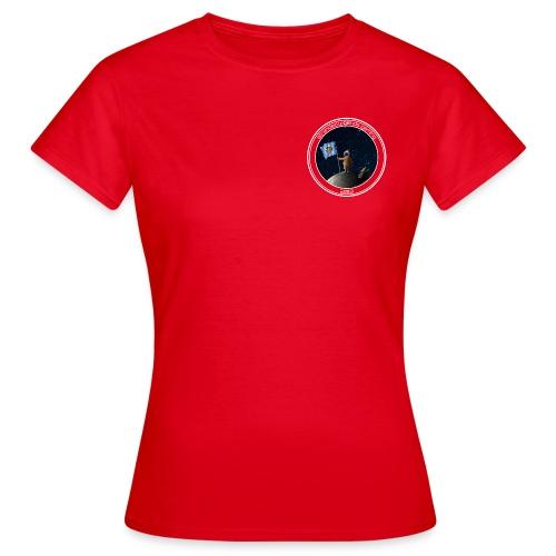 Logo stranded legends rot - Frauen T-Shirt