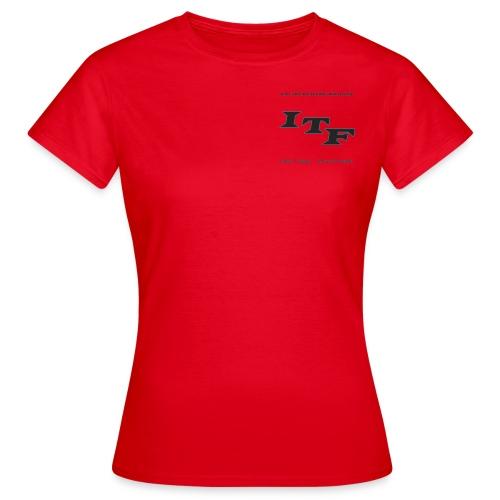 Logo Grijs Trans - Vrouwen T-shirt