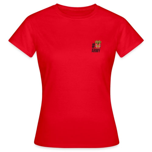 #POMMES-Army Design - Frauen T-Shirt
