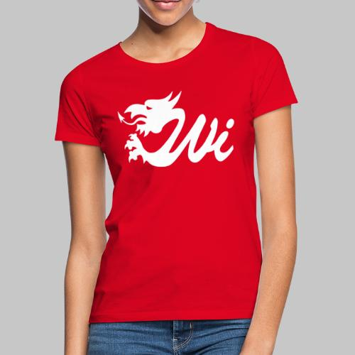 Wales Interactive Logo Dragon White - Women's T-Shirt