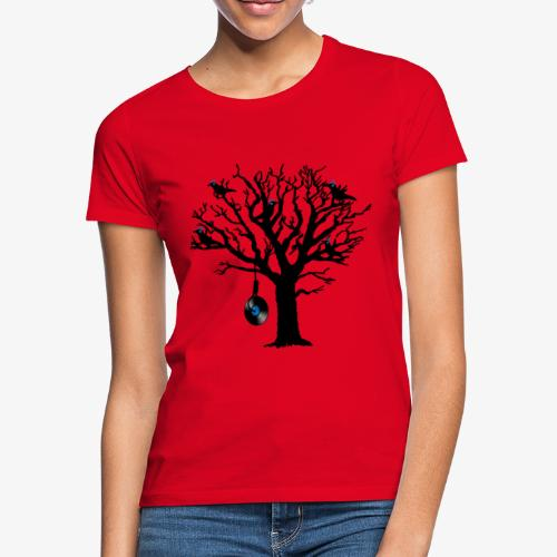 Musical Birds in Tree 2 blau Hangman Vinyl - Frauen T-Shirt