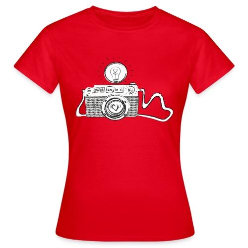 S33 camera-smile - Frauen T-Shirt