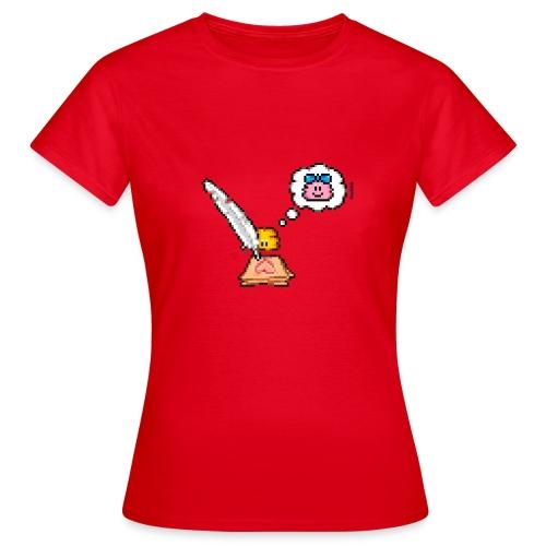 Love Letter Feder - Frauen T-Shirt