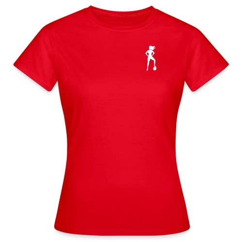 Football Babe - Play footy - Women's T-Shirt