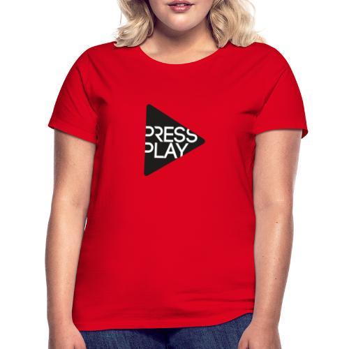 PressPlay logo - Women's T-Shirt