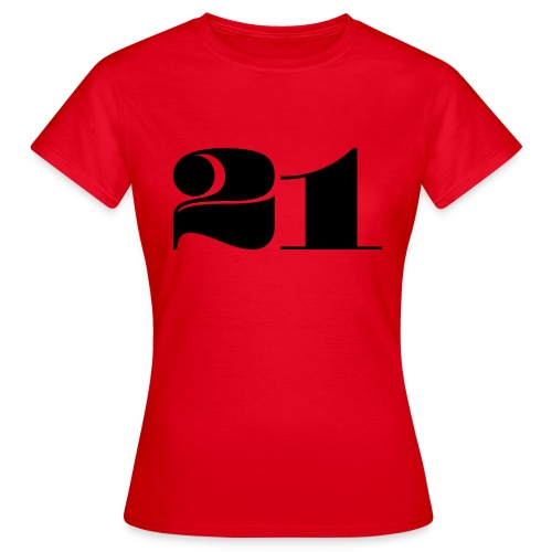 21 - TWENTY ONE - Women's T-Shirt