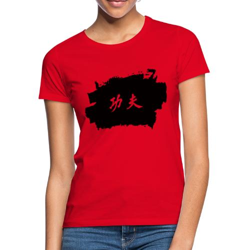 Tinte Kung Fu - Frauen T-Shirt