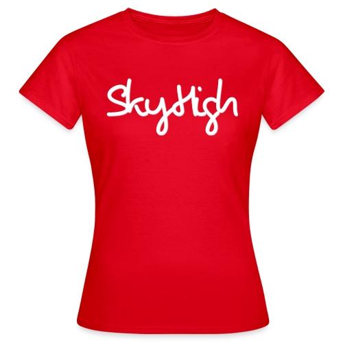 SkyHigh - Men's Premium T-Shirt - White Lettering - Women's T-Shirt