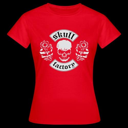 Skull - T-shirt Femme