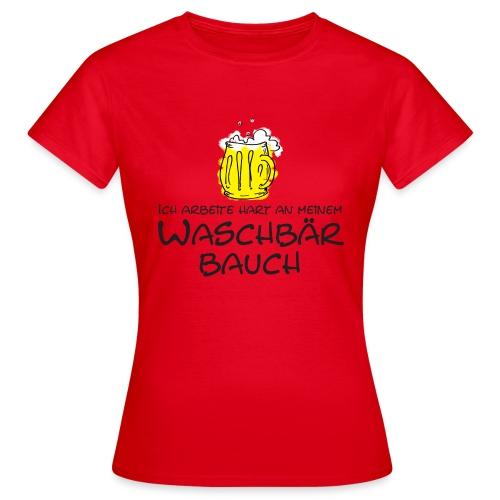 Waschbaerbauch - Frauen T-Shirt
