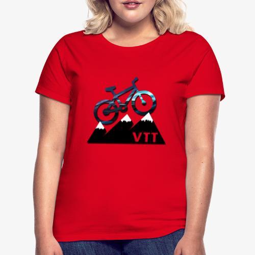 vtt - T-shirt Femme