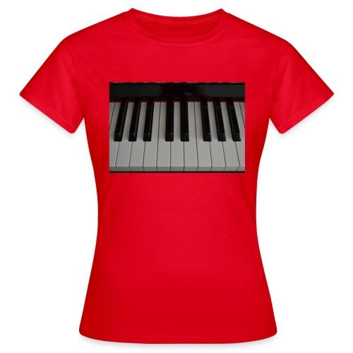 Piano - Vrouwen T-shirt