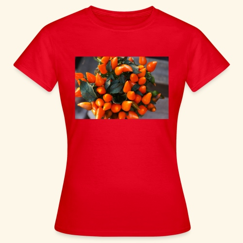 chili orange - Frauen T-Shirt