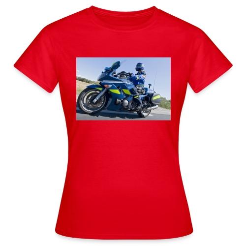 24 heures avec la brigade motorisee de Castelnau l - T-shirt Femme