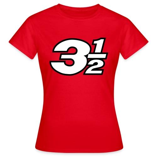 Three and a Half Logo - Women's T-Shirt