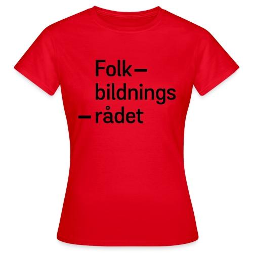 fbr_logo_SV - T-shirt dam