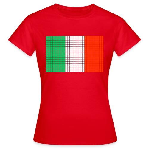 italian flag - Maglietta da donna