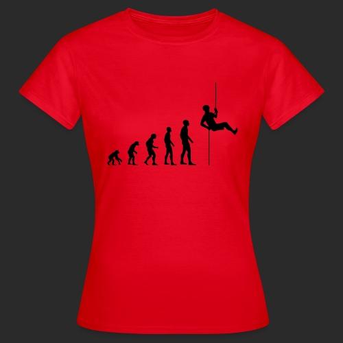 Climbing Evolution - Frauen T-Shirt