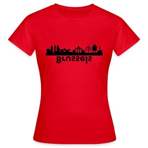 Brussels Skyline - Frauen T-Shirt