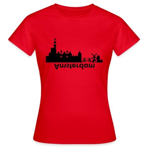 Amsterdam Skyline - Frauen T-Shirt