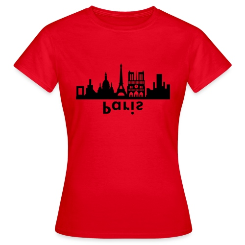 Paris Skyline - Frauen T-Shirt