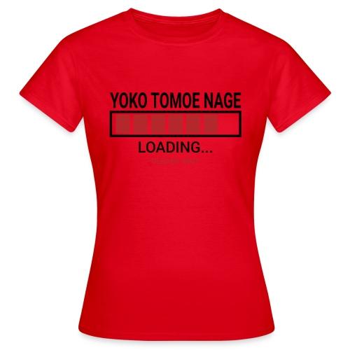 Yoko Tomoe Nage Loading... Pleas Wait - Koszulka damska