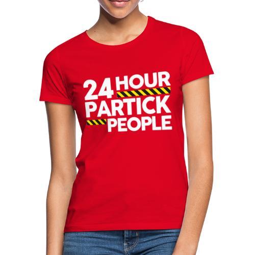 24 Hour Partick People - Women's T-Shirt