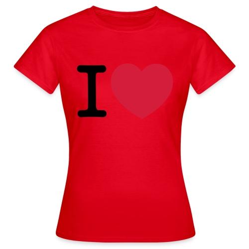 tekening - Vrouwen T-shirt
