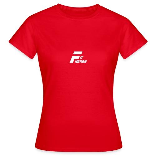FitNation White - Camiseta mujer