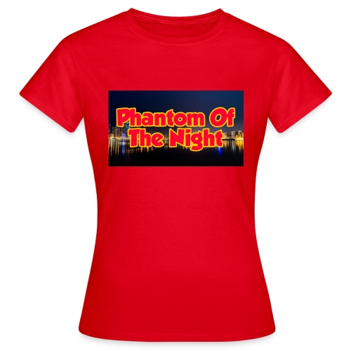 Phantom Of The Night Official Wear - Women's T-Shirt