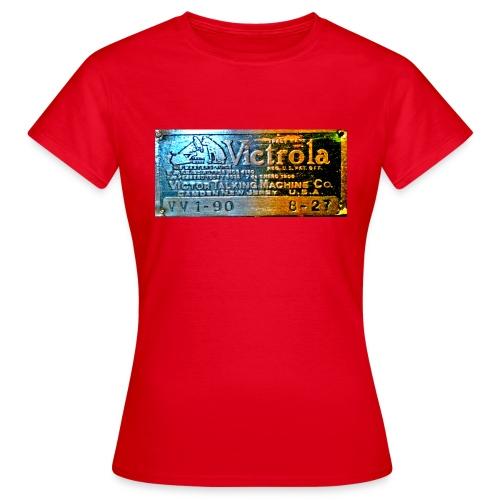 vitrola - Camiseta mujer