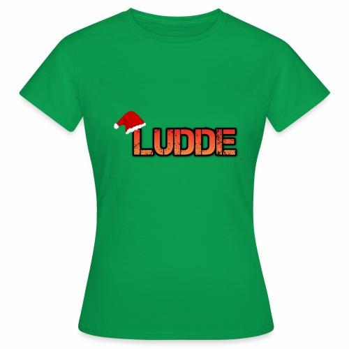 Exklusivt Jul tryck :D - T-shirt dam