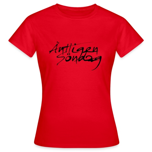 Antligen Sondag - T-shirt dam