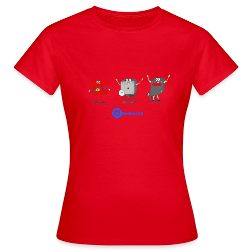 3D Extruders - Camiseta mujer