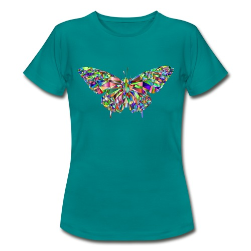 Geflogener Schmetterling - Frauen T-Shirt