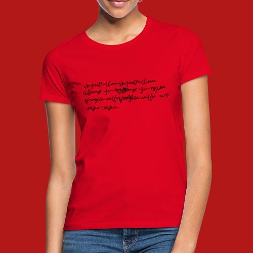 griboullis - T-shirt Femme