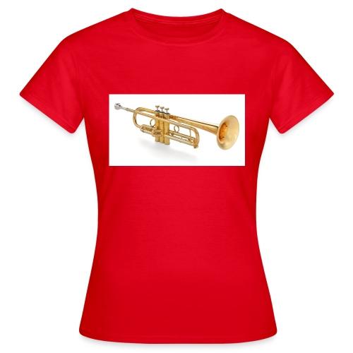 the trumpet - Frauen T-Shirt