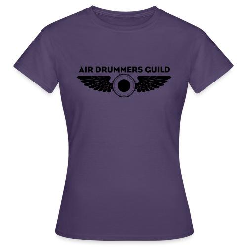 ADG Drum'n'Wings Emblem - Women's T-Shirt