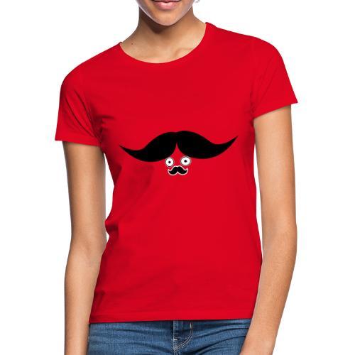 MR moustache - T-shirt Femme