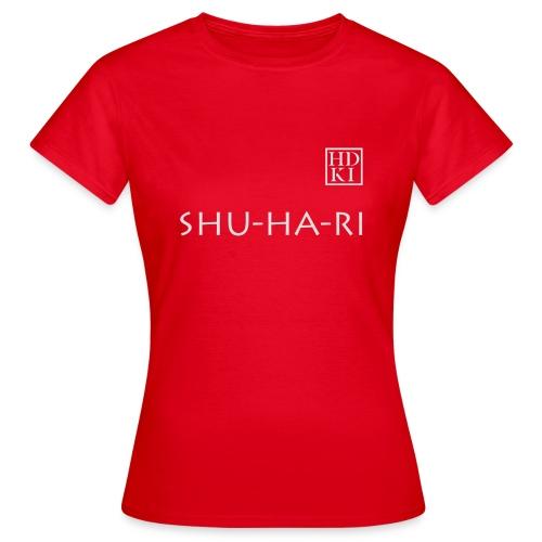 Shuhari HDKI white - Women's T-Shirt