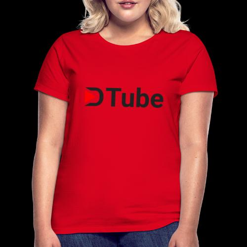 DTube logo - Frauen T-Shirt