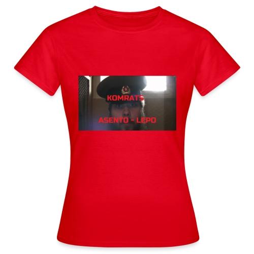 KOMRATS! - Naisten t-paita