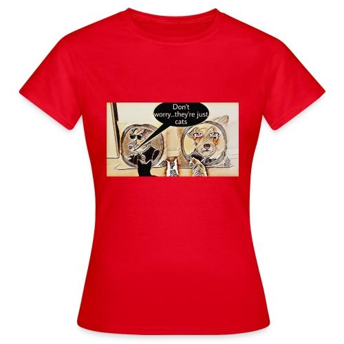Dogs VS Cats - T-shirt Femme