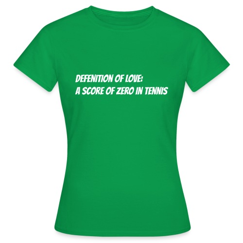 Tennis Love sweater men - Vrouwen T-shirt
