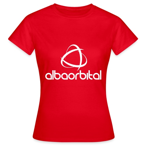 Alba Orbital Logo - White - Women's T-Shirt